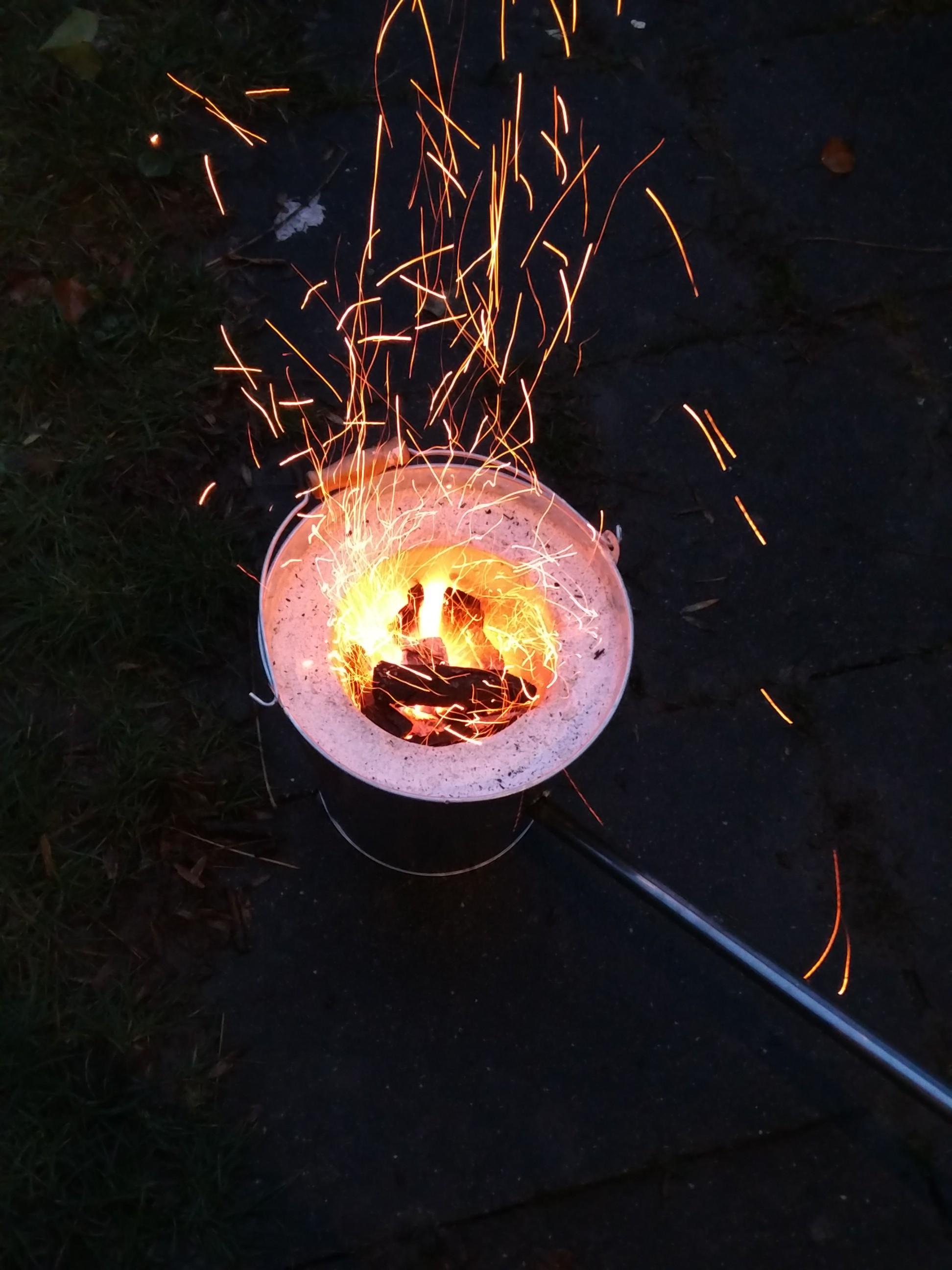 Jungpfadfinder: Brennkammer