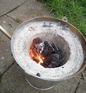 Der Ofen geht zum dritten Mal auf Betriebstemperatur